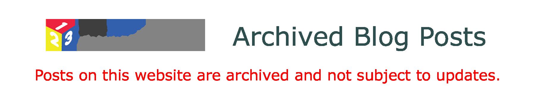 123ICT Website Blog Archive