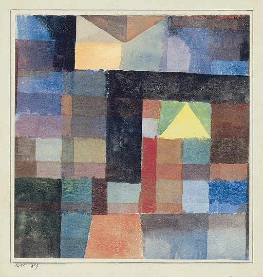 Studying Paul Klee