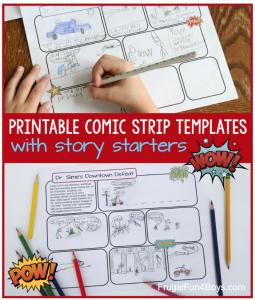 Comic Strip Writing