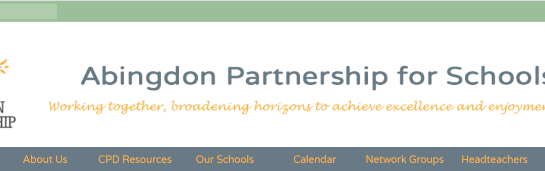 A Smart New 123ICT Website for Abingdon Partnership for Schools
