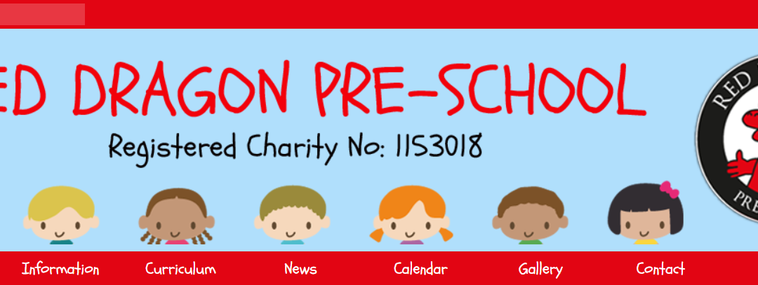 Red Dragon Pre-School's Great New 123ICT Website is Launched!