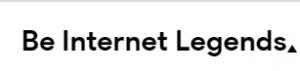 Be Internet Legends - parents