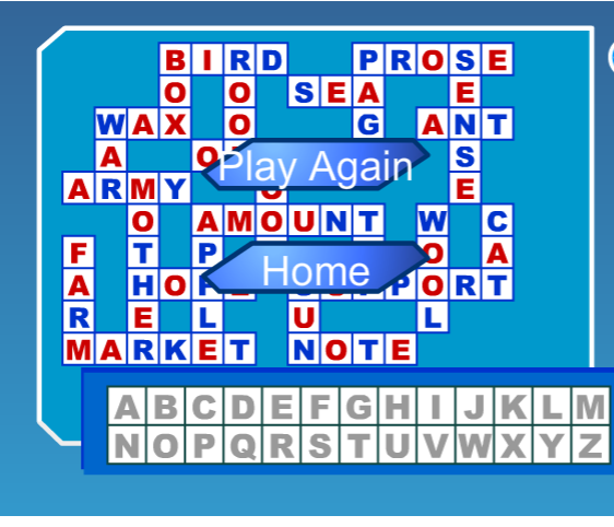 Interactive Spelling Games