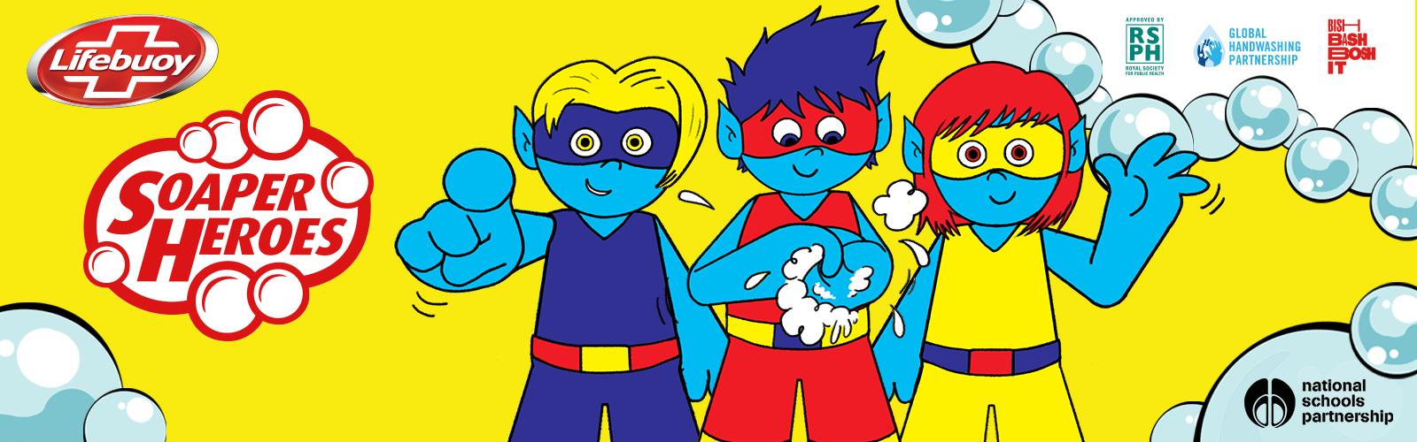 Lifebuoy's Soaper Heroes