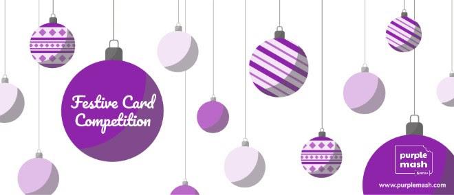 The Purple Mash Festive Card Competition