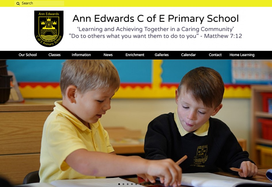 A Great New 123ICT Website for Ann Edwards Primary School!