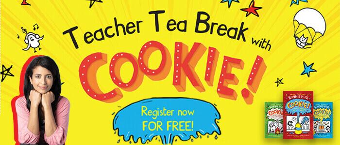 Teacher Tea Break with Cookie!